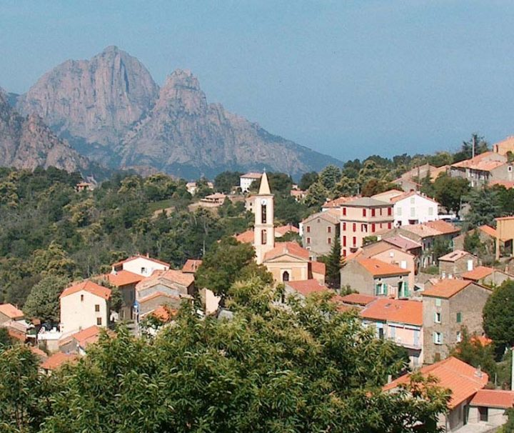 Village d'Evisa Corse