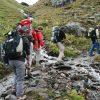 Départ pour le tour du Mont-Blanc