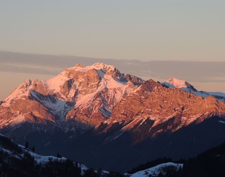 Hautes Bauges ski de randonnée nuit en cabane