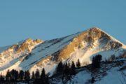 Hautes Bauges - Soleil couchant 1ère pyramide