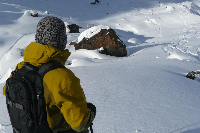 Ski hors piste Mont Vallon
